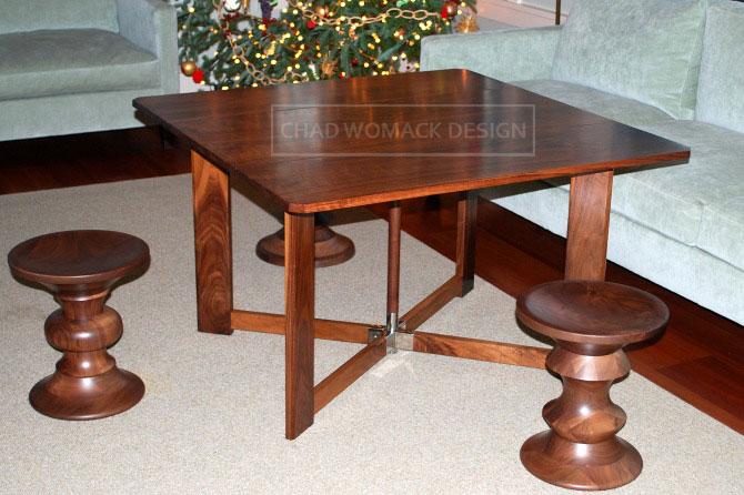 Tea Table Design : Pierre-Chareau-Tea-Table_CWD - Chad Womack Design  Fine Furniture ...