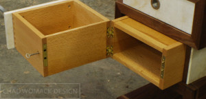 Quarter-Sawn-Red-Oak-Safe-Drawer