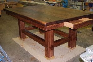 American Walnut Kitchen Island