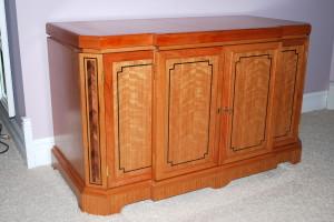 Neo Classic cherry cabinet
