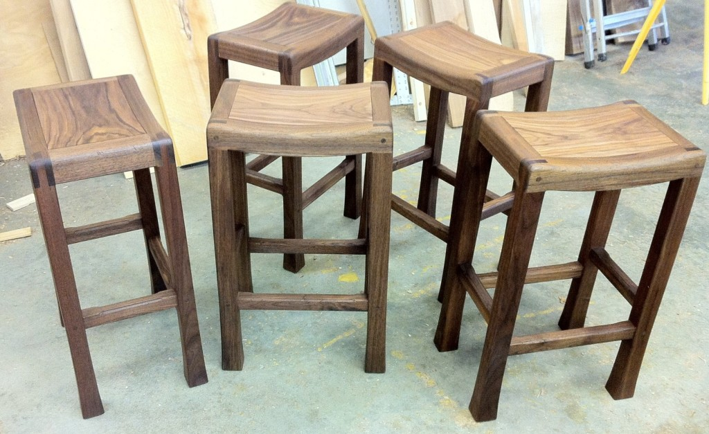 Saddle Seat Bar Stools