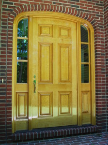 Custom Oak Door