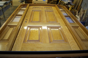Oak Entry Door