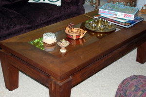 Walnut & Osage Orange Coffee Table