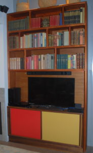 Color Block Bookcase